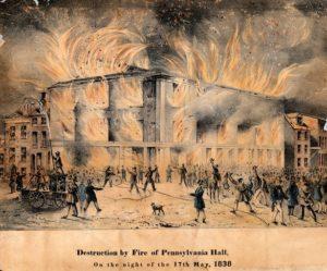 Burning of Pennsylvania Hall